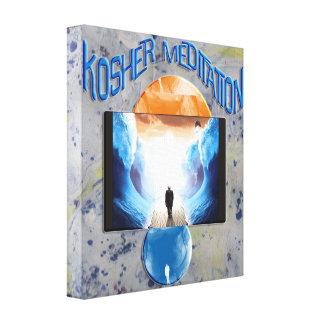 Kosher Meditation Canvas Print