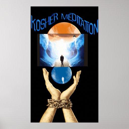 kosher Meditation Print