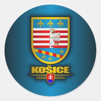 Kosice Round Sticker