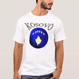 Kosovo 3d ball flag football soccer jersey t-shirt