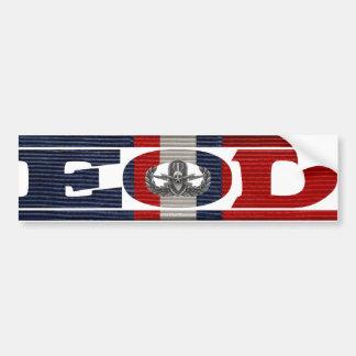 Kosovo Campaign Ribbon EOD Bumper Sticker