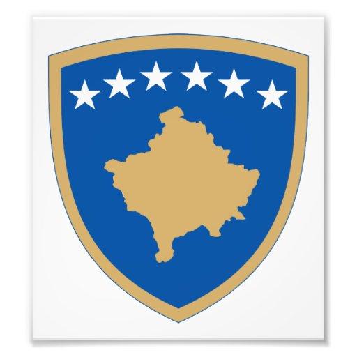 Kosovo Coat Of Arms Photo Art
