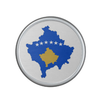 kosovo country flag map shape silhouette bluetooth speaker
