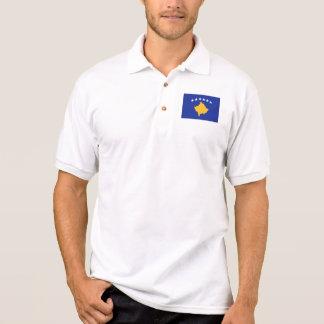 Kosovo flag polo t-shirts