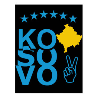 KoSoVo Flag Post Card