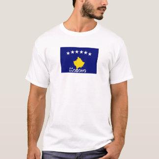 Kosovo flag souvenir tshirt