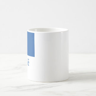 Kosovo Flag with Name in Albanian Coffee Mug