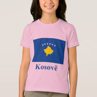 Kosovo Flag with Name in Albanian Tshirts