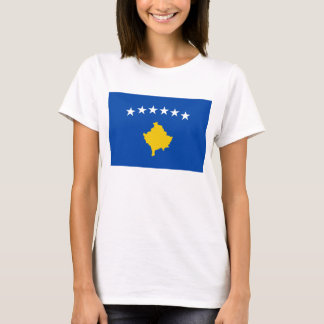 Kosovo Flag x Map T-Shirt