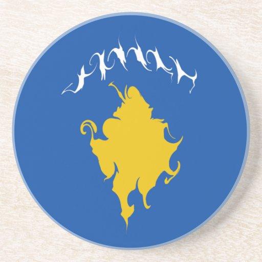Kosovo Gnarly Flag