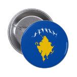Kosovo Gnarly Flag Button