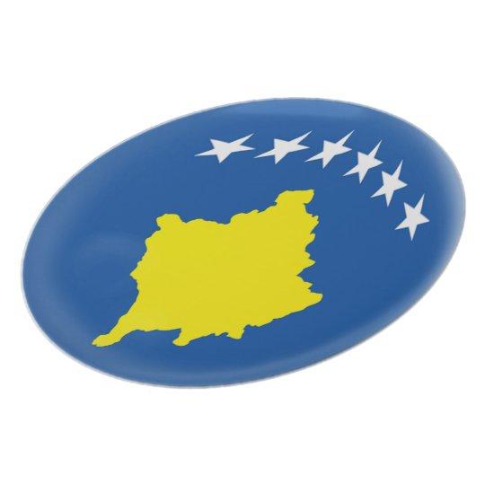 Kosovo Kosovan Flag Plate