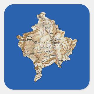 Kosovo Map Sticker