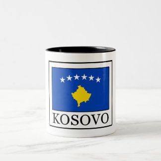 Kosovo Two-Tone Coffee Mug
