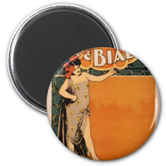 Koster & Bial's, 'Music Hall' Retro Theater Refrigerator Magnets