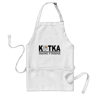 Kotka Finland apron - choose style & color