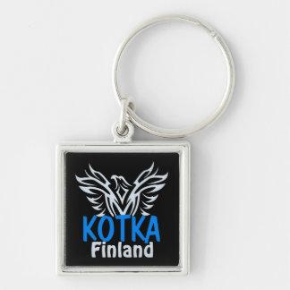 Kotka Finland Premium key chain