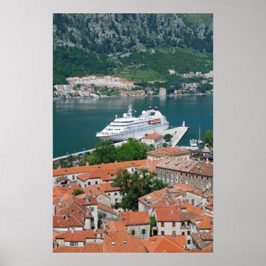 Kotor in Montenegro Poster