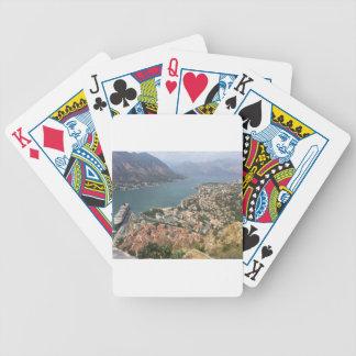 Kotor, Montenegro Bicycle Playing Cards