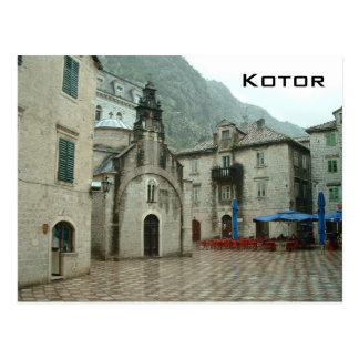 Kotor Postcard