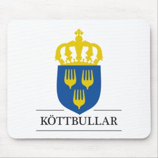 Köttbullar - mat från Sverige Mouse Mat
