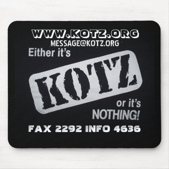 kotz or nada mouse mat