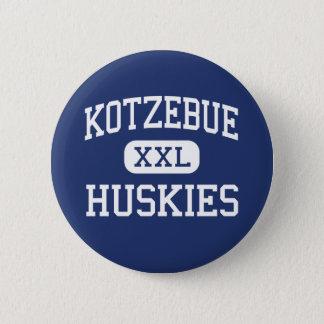 Kotzebue Huskies Middle Kotzebue Alaska 6 Cm Round Badge