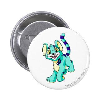 Kougra Blue 6 Cm Round Badge