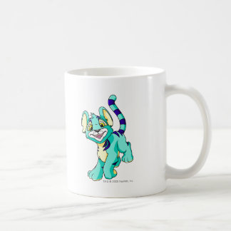 Kougra Blue Basic White Mug