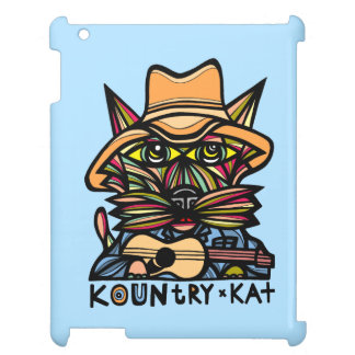 """Kountry Kat"" 631 Art iPad Case"