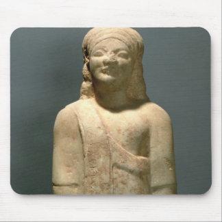 Kouros Dionysermos, Greek, Archaic Period, c.600 B Mouse Mat