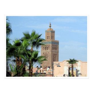 koutoubia mosque postcard