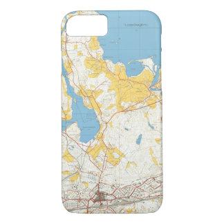 Kouvola 1965 kännykkäkuori | Old Map iPhone 7 Case
