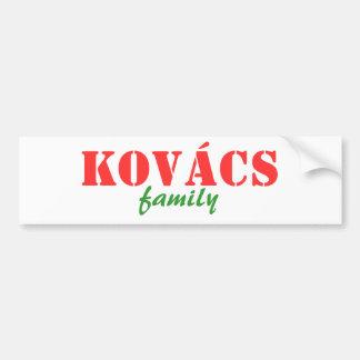 Kovacs Family Bumper Sticker