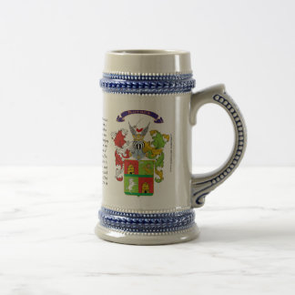 Kovacs, the History, the Meaning and the Crest Beer Steins
