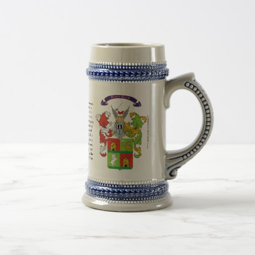Kovacs, the History, the Meaning and the Crest Coffee Mug