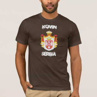 Kovin, Serbia with coat of arms T-Shirt