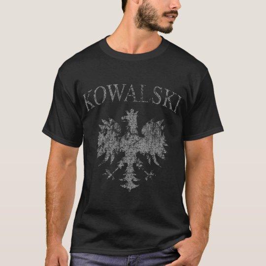 Kowalski Polish Eagle t shirt