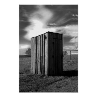 Koyl cemetery outhouse posters