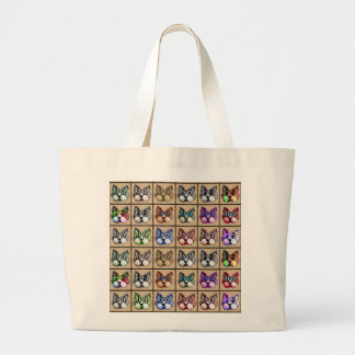 Kozy Katz Kream Canvas Bag