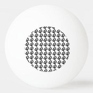 KPL  circle more  logos Three Star Ping Pong Ball.