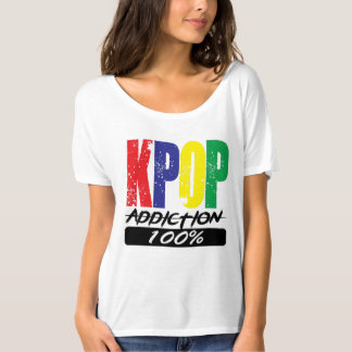 KPOP Addiction 100% T-Shirt