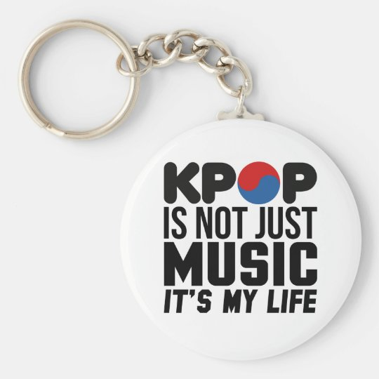 Kpop Is My Life Music Slogan Graphics Basic