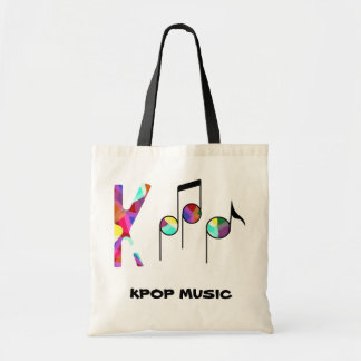 KPOP music bag! Tote Bag