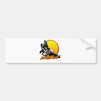 KR94bikebrapsun.png Bumper Sticker