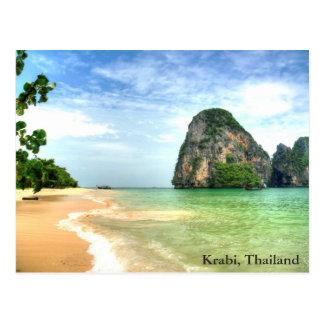 Krabi, Thailand Postcard