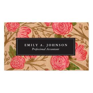 Kraft Florals Business Cards