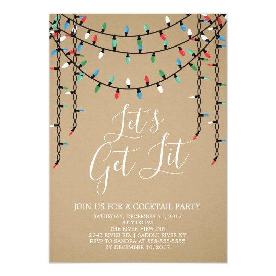 secret santa party invitations  u0026 announcements