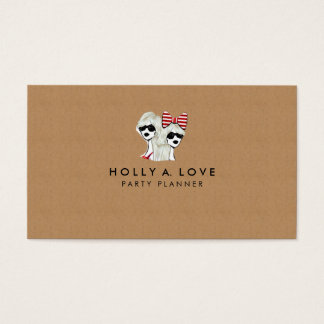 Kraft Paper | Faux Paper Texture Any Style Custom Business Card