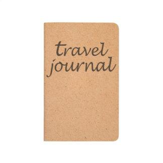 Kraft Travel Pocket Journal Notebook